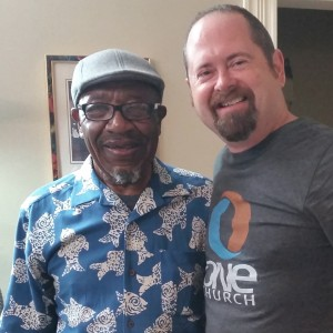 Matt with Dr. John M. Perkins, keynote speaker at this year's Dream of Destiny Breakfast. Matt and Dr. Perkins serve the city of Jackson, MS, together.